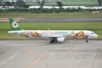 kumagorouさんが、仙台空港で撮影したエバー航空 A321-211の航空フォト(写真)