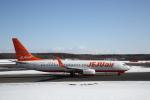 ATOMさんが、新千歳空港で撮影したチェジュ航空 737-8ASの航空フォト(飛行機 写真・画像)