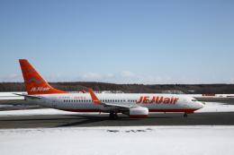 ATOMさんが、新千歳空港で撮影したチェジュ航空 737-8ASの航空フォト(写真)