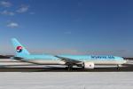 ATOMさんが、新千歳空港で撮影した大韓航空 777-3B5/ERの航空フォト(飛行機 写真・画像)