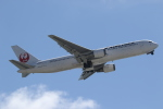 ANA744Foreverさんが、那覇空港で撮影した日本航空 767-346/ERの航空フォト(飛行機 写真・画像)