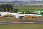 やまけんさんが、仙台空港で撮影したエバー航空 A321-211の航空フォト(写真)