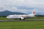 Miraiさんが、熊本空港で撮影した日本航空 737-846の航空フォト(飛行機 写真・画像)
