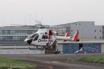 KAZFLYERさんが、東京ヘリポートで撮影した朝日航洋 MD-900 Explorerの航空フォト(写真)