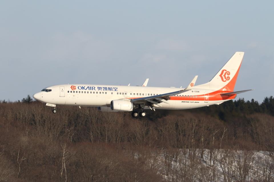 ATOMさんの奥凱航空 Boeing 737-800 (B-1338) 航空フォト