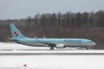 ATOMさんが、新千歳空港で撮影した大韓航空 737-9B5/ER の航空フォト(飛行機 写真・画像)