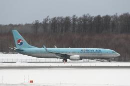 ATOMさんが、新千歳空港で撮影した大韓航空 737-9B5/ER の航空フォト(写真)