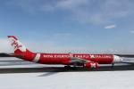 ATOMさんが、新千歳空港で撮影したタイ・エアアジア・エックス A330-343Eの航空フォト(飛行機 写真・画像)