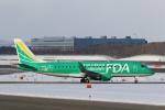 ATOMさんが、新千歳空港で撮影したフジドリームエアラインズ ERJ-170-200 (ERJ-175STD)の航空フォト(飛行機 写真・画像)