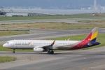 camelliaさんが、関西国際空港で撮影したアシアナ航空 A321-231の航空フォト(写真)