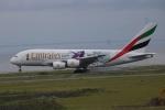 水月さんが、関西国際空港で撮影したエミレーツ航空 A380-861の航空フォト(写真)