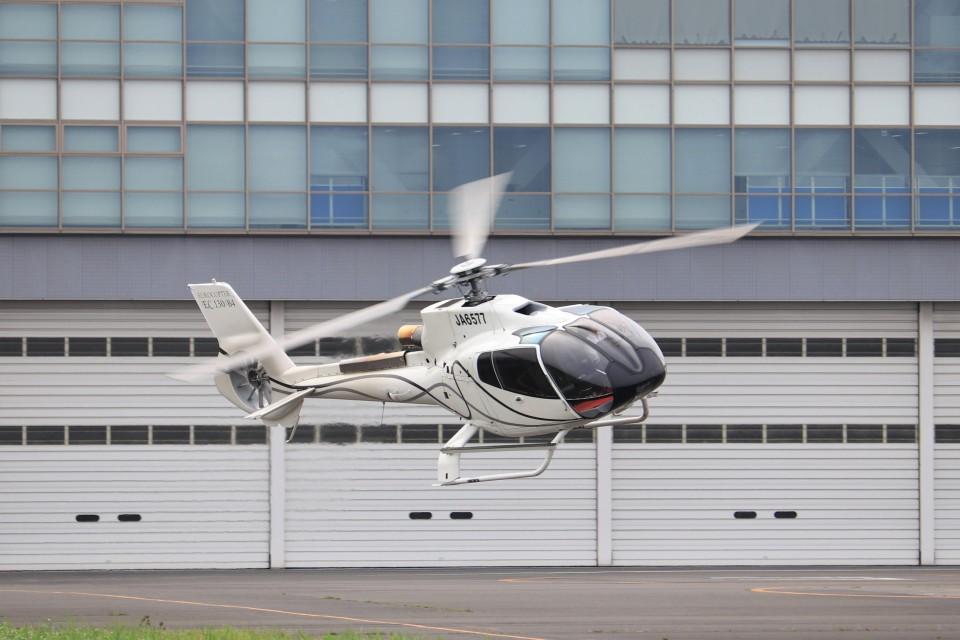 KAZFLYERさんのオートパンサー Eurocopter EC130 (JA6577) 航空フォト