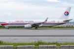 I.K.さんが、関西国際空港で撮影した中国東方航空 737-89Pの航空フォト(飛行機 写真・画像)