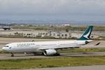 camelliaさんが、関西国際空港で撮影したキャセイパシフィック航空 A330-343Xの航空フォト(写真)