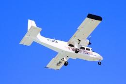 Hiro-hiroさんが、プリンセス・ジュリアナ国際空港で撮影したウィンエア BN-2A-26 Islanderの航空フォト(飛行機 写真・画像)
