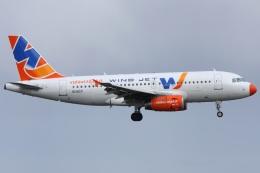 Hariboさんが、アムステルダム・スキポール国際空港で撮影したウインド・ジェット A319-132の航空フォト(飛行機 写真・画像)