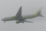 木人さんが、成田国際空港で撮影したジンエアー 777-2B5/ERの航空フォト(写真)