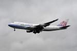 kuro2059さんが、台湾桃園国際空港で撮影したチャイナエアライン 747-409F/SCDの航空フォト(写真)