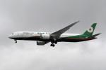 kuro2059さんが、台湾桃園国際空港で撮影したエバー航空 787-9の航空フォト(飛行機 写真・画像)