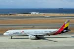 yabyanさんが、中部国際空港で撮影したアシアナ航空 A321-231の航空フォト(飛行機 写真・画像)
