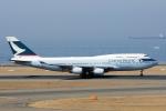 yabyanさんが、中部国際空港で撮影したキャセイパシフィック航空 747-467の航空フォト(写真)