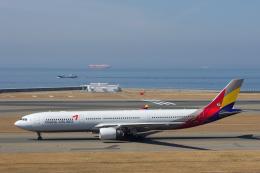 yabyanさんが、中部国際空港で撮影したアシアナ航空 A330-323Xの航空フォト(写真)