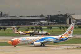 NH642さんが、ドンムアン空港で撮影したノックエア 737-88Lの航空フォト(飛行機 写真・画像)