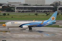 NH642さんが、ドンムアン空港で撮影したノックエア 737-86Jの航空フォト(飛行機 写真・画像)