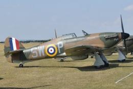 MOR1(新アカウント)さんが、ダックスフォード飛行場で撮影したuntitled Hurricane Mk1の航空フォト(飛行機 写真・画像)