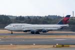 Y-Kenzoさんが、成田国際空港で撮影したデルタ航空 747-451の航空フォト(写真)