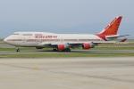 ジェットジャンボさんが、関西国際空港で撮影したエア・インディア 747-437の航空フォト(写真)