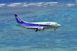 HISAHIさんが、新石垣空港で撮影したANAウイングス 737-5L9の航空フォト(写真)