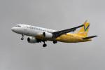 kuro2059さんが、台湾桃園国際空港で撮影したバニラエア A320-214の航空フォト(飛行機 写真・画像)