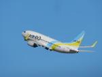 もっちゃこさんが、羽田空港で撮影したAIR DO 737-781の航空フォト(飛行機 写真・画像)