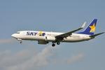 snow_shinさんが、福岡空港で撮影したスカイマーク 737-82Yの航空フォト(写真)