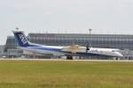 kumagorouさんが、仙台空港で撮影したエアーニッポンネットワーク DHC-8-402Q Dash 8の航空フォト(写真)