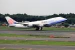 T.Sazenさんが、成田国際空港で撮影したチャイナエアライン 747-409F/SCDの航空フォト(飛行機 写真・画像)