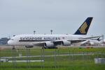 mojioさんが、成田国際空港で撮影したシンガポール航空 A380-841の航空フォト(飛行機 写真・画像)