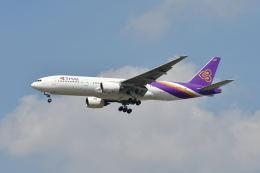ポン太さんが、スワンナプーム国際空港で撮影したタイ国際航空 777-2D7の航空フォト(飛行機 写真・画像)