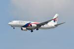 ポン太さんが、スワンナプーム国際空港で撮影したマレーシア航空 737-8H6の航空フォト(写真)
