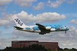 つっさんさんが、成田国際空港で撮影した全日空 A380-841の航空フォト(写真)