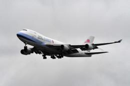 kuro2059さんが、台湾桃園国際空港で撮影したチャイナエアライン 747-409F/SCDの航空フォト(飛行機 写真・画像)