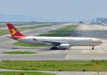 じーく。さんが、関西国際空港で撮影した天津航空 A330-343Eの航空フォト(写真)