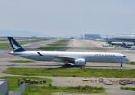 じーく。さんが、関西国際空港で撮影したキャセイパシフィック航空 A350-1041の航空フォト(飛行機 写真・画像)