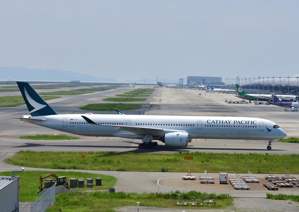 じーく。さんのキャセイパシフィック航空 Airbus A350-1000 (B-LXK) 航空フォト