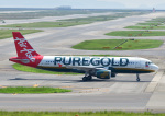 じーく。さんが、関西国際空港で撮影したフィリピン・エアアジア A320-216の航空フォト(写真)