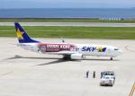 PGM200さんが、神戸空港で撮影したスカイマーク 737-8ALの航空フォト(写真)