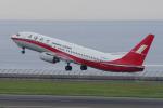 yabyanさんが、中部国際空港で撮影した上海航空 737-86Nの航空フォト(写真)