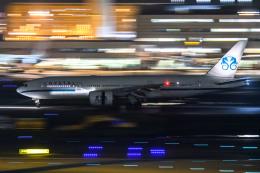 kuraykiさんが、羽田空港で撮影したクリスタル・ラグジュアリー・エア 777-29M/LRの航空フォト(飛行機 写真・画像)