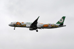 kuro2059さんが、台湾桃園国際空港で撮影したエバー航空 A321-211の航空フォト(飛行機 写真・画像)